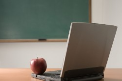 apple on computer