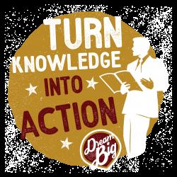 turn knowledge into power - Sid Chadwick